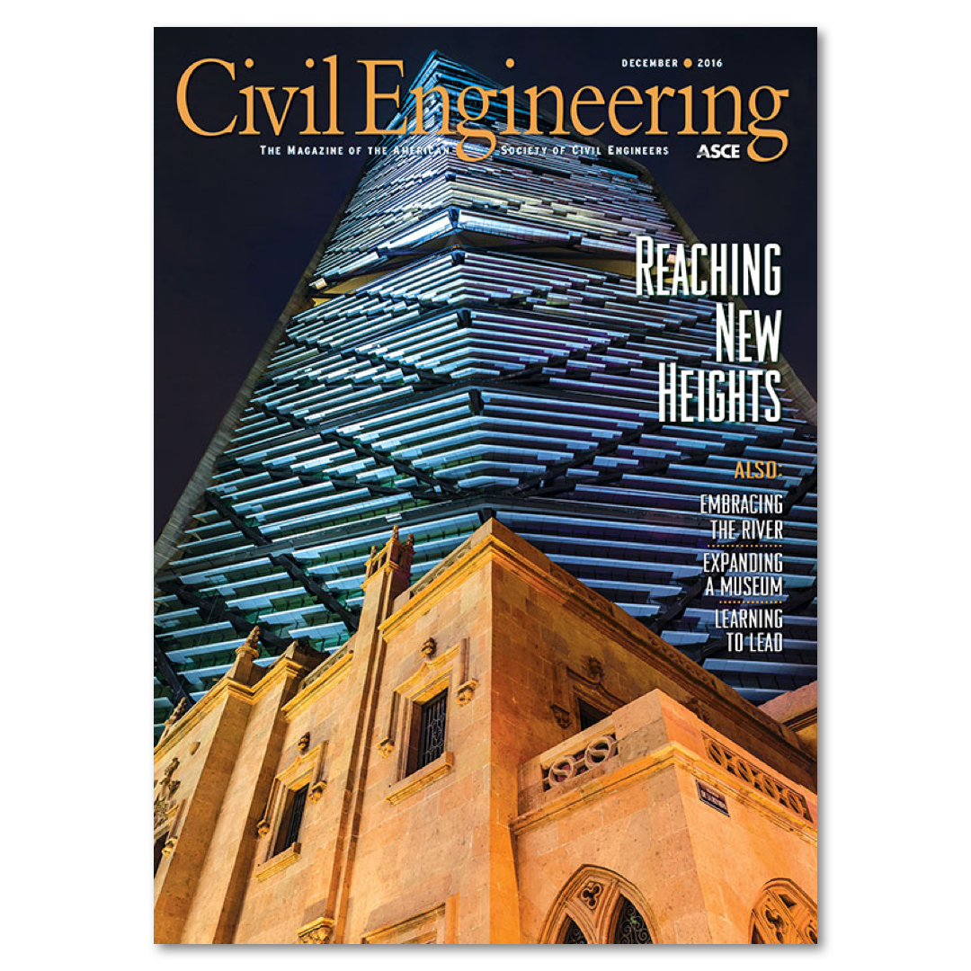 Civil Engineering Magazine Cover